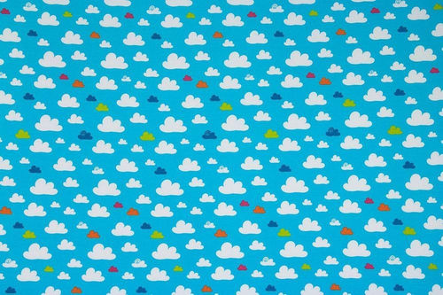 Lucky Sky Jersey Wolken by CHERRY PICKING
